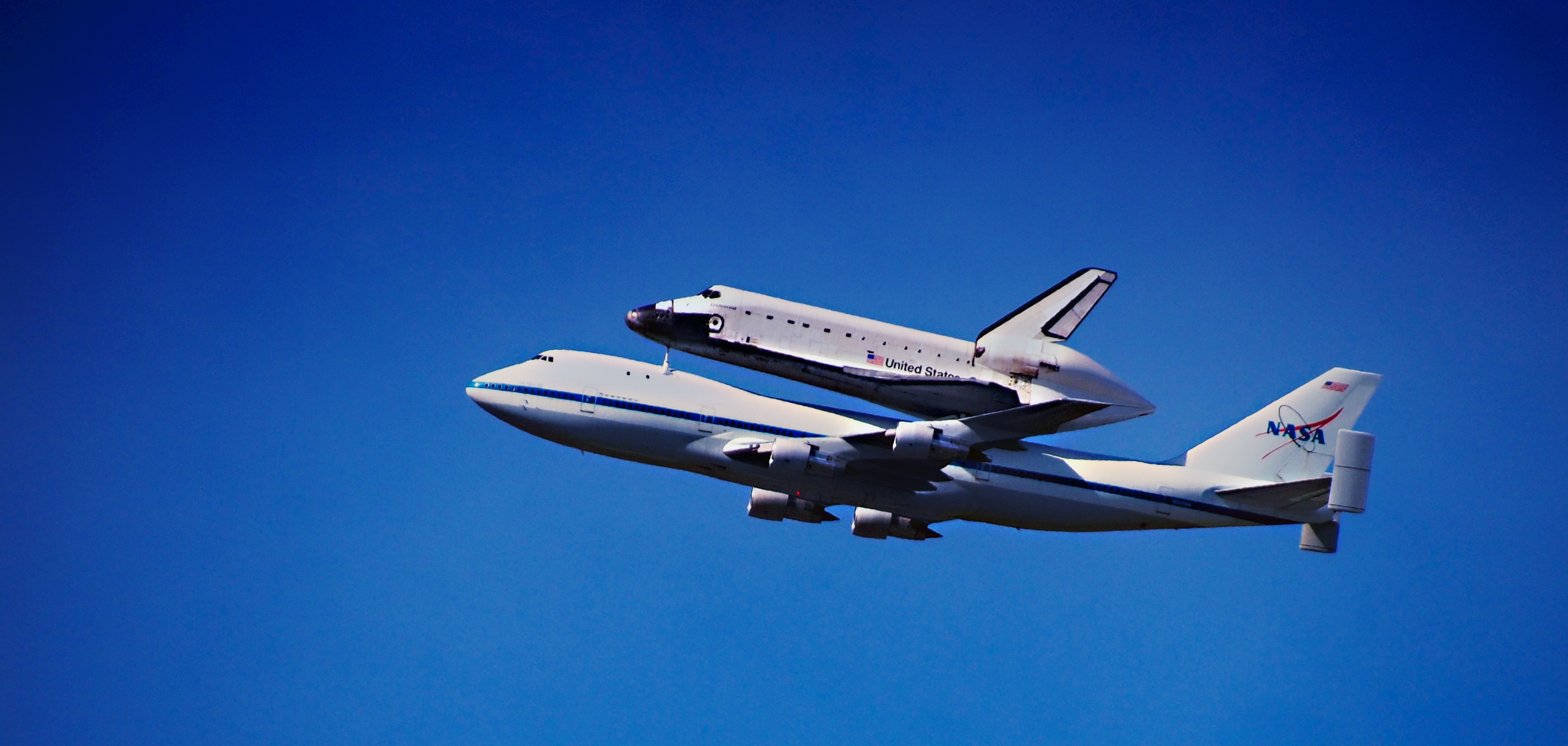 Shuttle Fly Over
